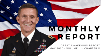 GENERAL FLYNN EXONERATED, Q SILENT INVISIBLE INSURGENCY WAR, WORLD REJECTS SHELTER-IN-PLACE