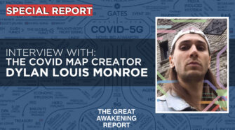 DYLAN LOUIS MONROE - Covid Map