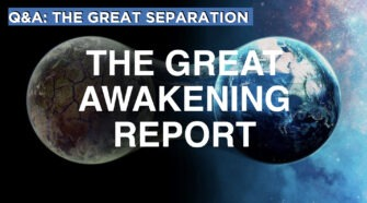 The Great Separation   The Great Awakening