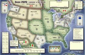 US Civil War Regional divide