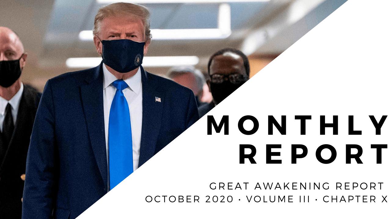 MONTHLY REPORT - October 2020 - Volume III - ChapterX