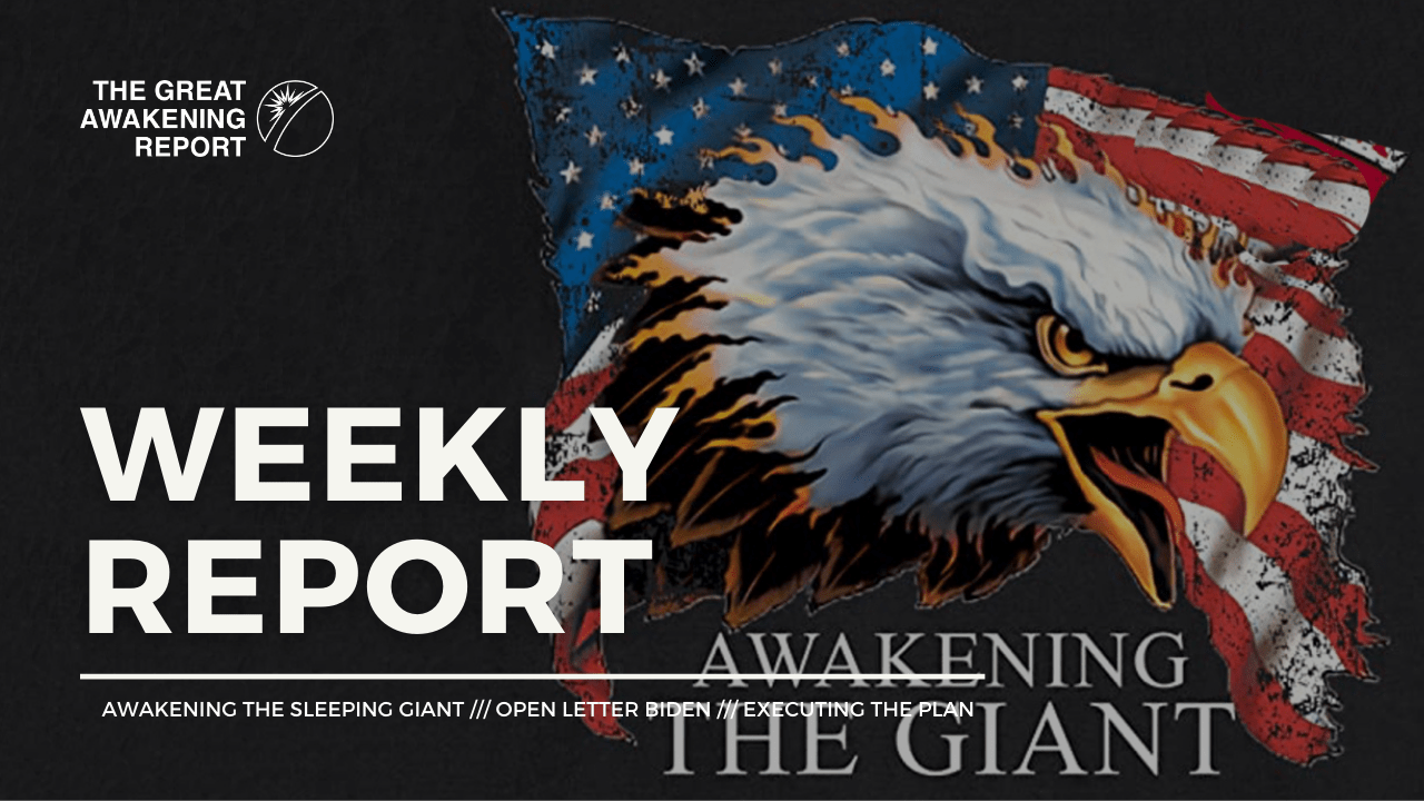 Awakening The Sleeping Giant - Open Letter Biden - Executing The Plan
