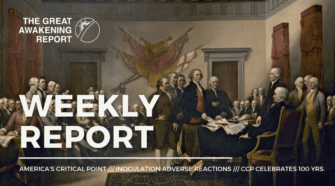 America's Critical Point - Inoculation Adverse Reactions - Ccp Celebrates 100 Yrs.