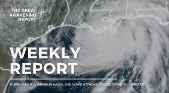 Hurricane Ida Winds - Kabul 2nd Wave Attacks - Injections No Consent
