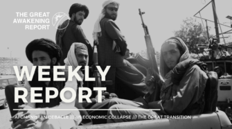 afghanistan debacle - us economic collapse - the great transition
