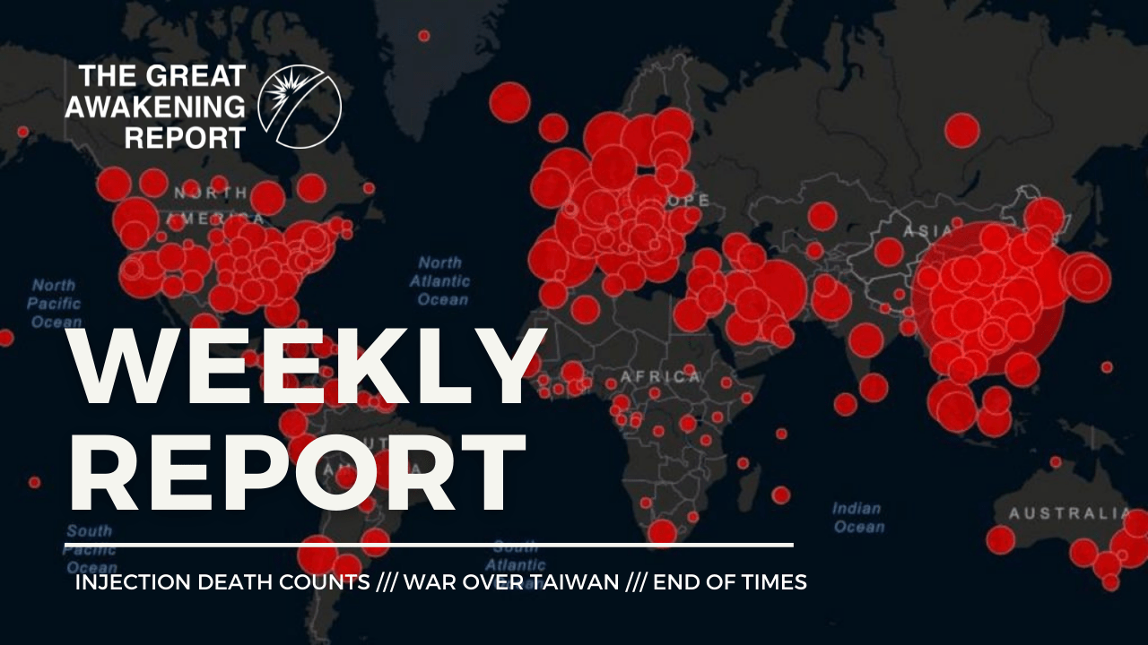INJECTION DEATH COUNTS - WAR OVER TAIWAN - END OF TIMES